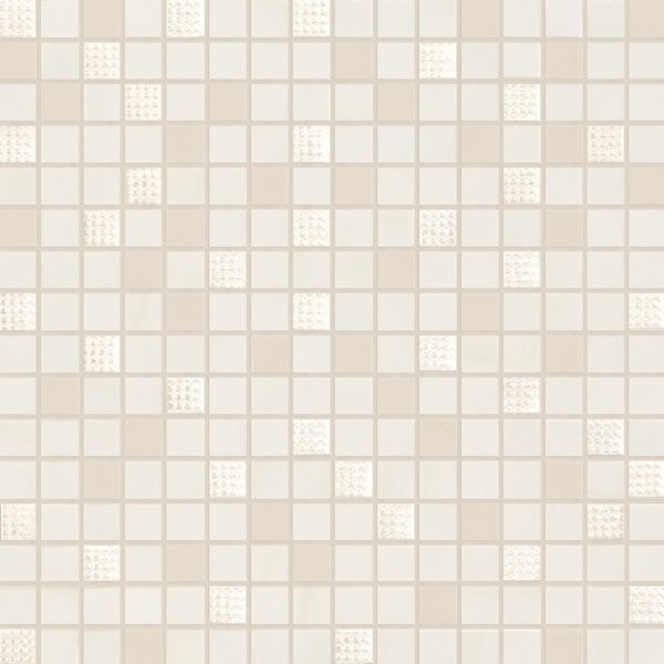 цена Керамическая мозаика Marca Corona Newluxe White Tessere Riv 30,5х30,5 см онлайн в 2017 году