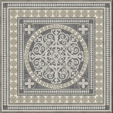 Панно напольное Absolut Keramika Terranova Roseton 118.4x118.4см стоимость