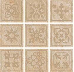 цена на Керамическая вставка ColiseumGres Alpi Beige Tozzetto Celtico 610090001122 10х10 см