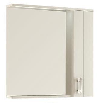 лучшая цена Зеркало со шкафом Aquanet Паллада 80 175316 Слоновая кость