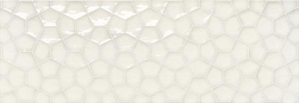 Керамическая плитка Ape Allegra Tina White Rect. настенная 31,6x90см керамический декор ape allegra decor link white 31 6x90см