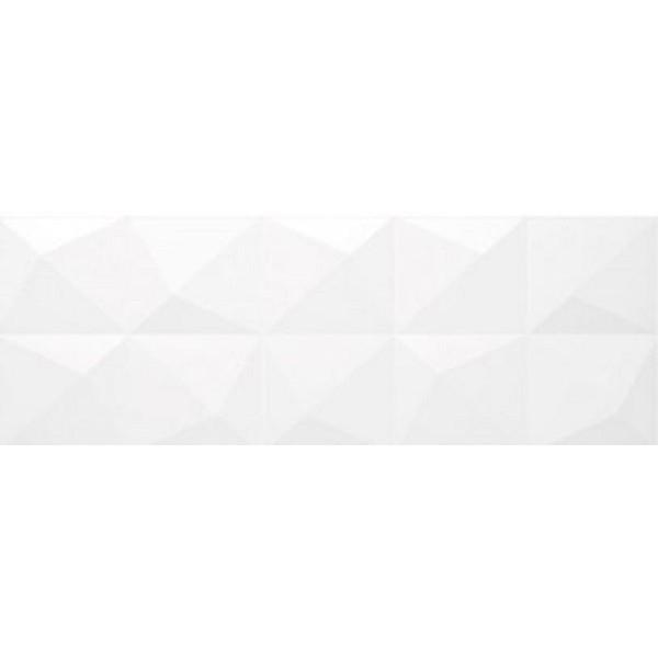 Керамическая плитка La Platera White Dimond настенная 35х90 см