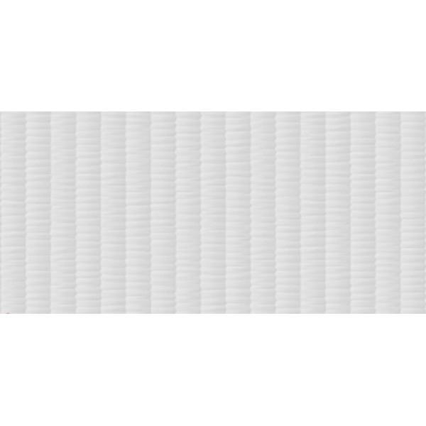Керамическая плитка Metropol Essential Cavity White настенная 30х60 см