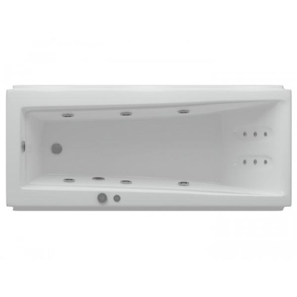 Фото - Акриловая ванна Акватек Либра 170x70 с гидромассажем стандартные форсунки ванна акватек либра 150x70 lib150 0000037 акрил