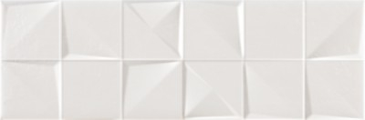 Керамическая плитка Argenta Lure Mosaic White настенная 20х60см