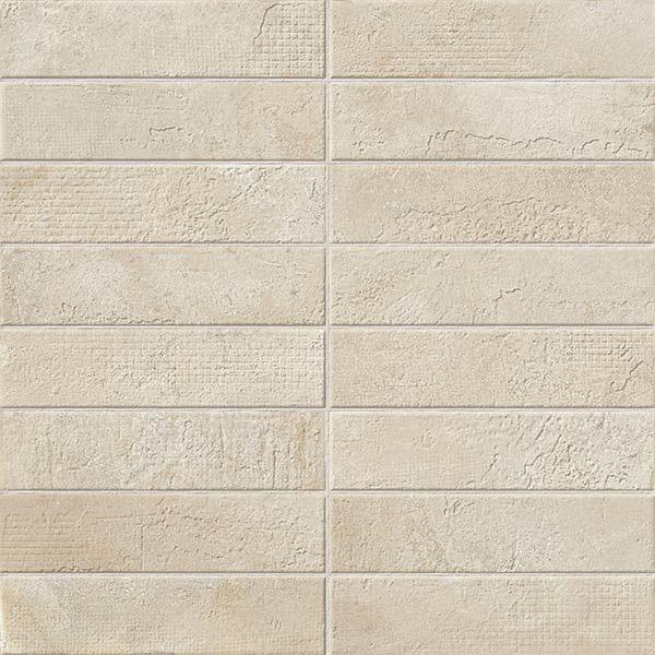 Керамическая вставка ColiseumGres Garda Белый Брик 610080000205 45х45 см