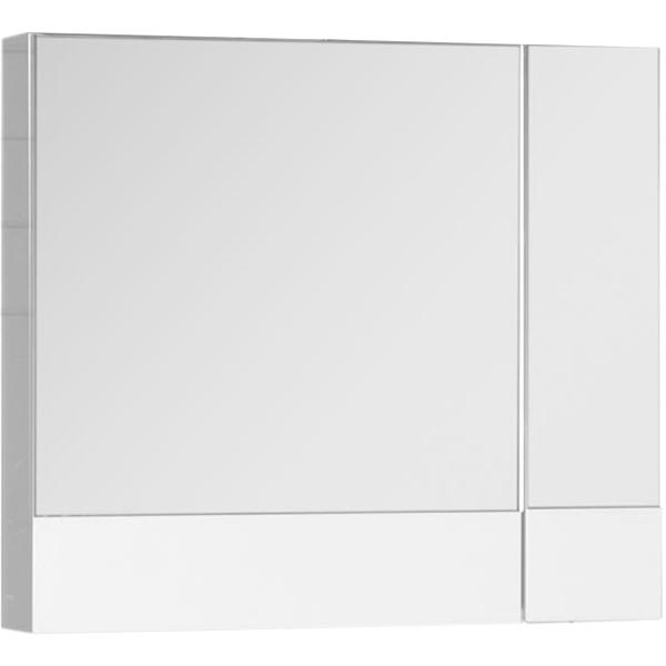Зеркальный шкаф Aquanet Нота 75 165130 Белый зеркальный шкаф aquanet нота 50 белый камерино 175670