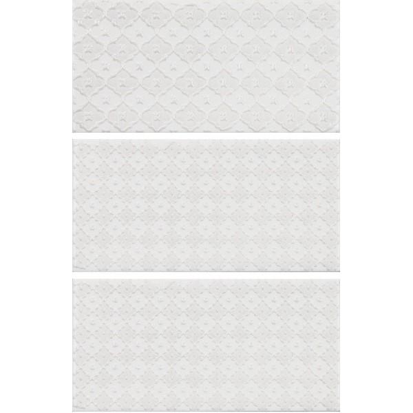 Фото - Керамический декор Monopole Ceramica Mirage Jewel Nacre White 7,5х15 см керамический бордюр monopole ceramica mirage listelo white brillo 2х15 см