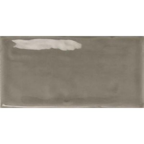 Фото - Керамическая плитка Monopole Ceramica Mirage Dark Grey Brillo настенная 7,5х15 см керамический бордюр monopole ceramica mirage listelo white brillo 2х15 см