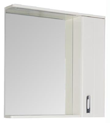 Зеркало со шкафом Aquanet Паллада 80 175314 Белое зеркало со шкафом orange classic 85 белое