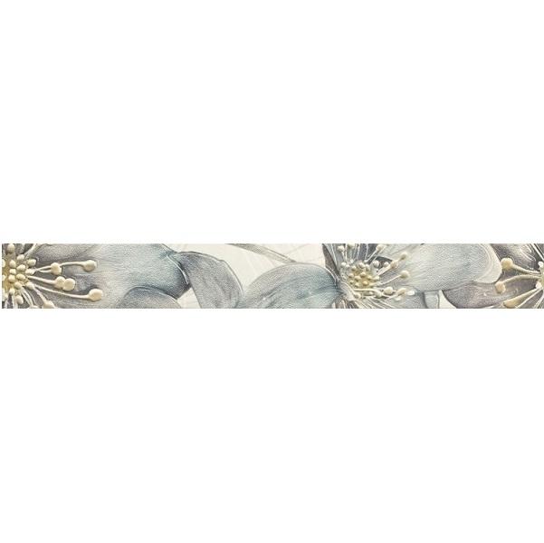 Бордюр Ceramika Paradyz Thea Bianco Listwa 4,8х40см бордюр ceramika konskie imperial wood listwa glass 8x90