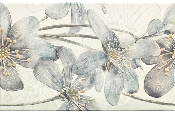 Керамический декор Ceramika Paradyz Thea Bianco Inserto 25х40см цены