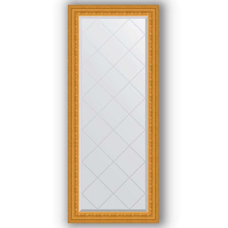 Зеркало Evoform Exclusive-G 154х65 Старый гипс зеркало evoform exclusive g floor 200х110 старый гипс