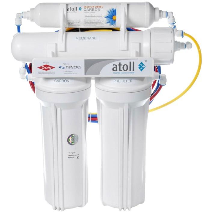Фильтр для очистки воды Atoll A-450 STD (A-460E) под кухонную мойку