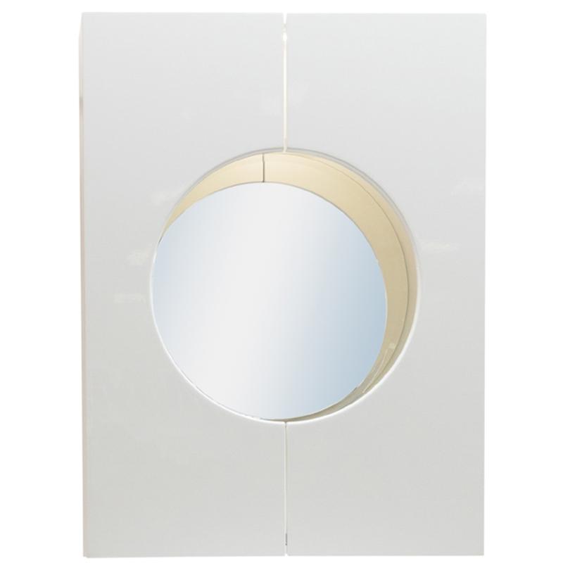 Зеркальный шкаф Orange Sole-60ZSW Белый