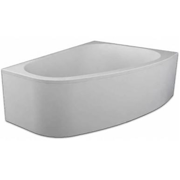 Акриловая ванна Kolpa San Chad 170x120 L Standart акриловая ванна с гидромассажем kolpa san chad s magic l 170x120 см левая на каркасе слив перелив