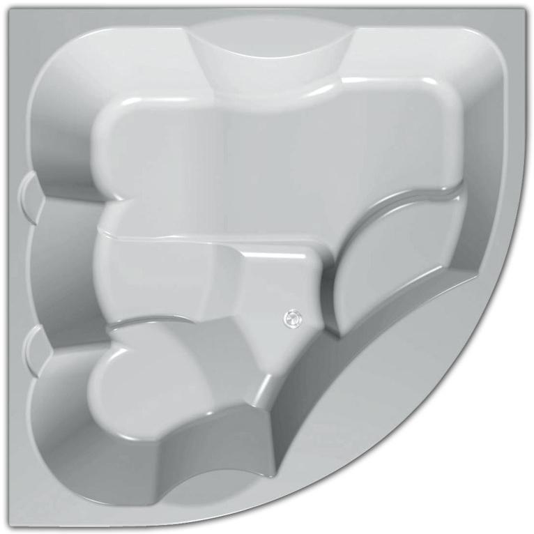 Gaya 160x160  Elite PlusВанны<br>Акриловая ванна Kolpa San Gaya 160x160.<br>Изящная угловая ванна с плавными линиями безусловно станет ключевым объектом вашей ванной комнаты.<br>Ванна из литого акрила, армированная. Отличается прочностью и имеет гладкую поверхность без пор, что препятствует размножению бактерий и облегчает уход за ванной.<br>Размер: 160x160x85 см.<br>Конструкция: на каркасе.<br>,Система гидромассажа:<br>8 форсунок Maxi-Jet с функцией пульсирующего режима.<br>12 форсунок Micro-Jet для спинного массажа.<br>Сенсорное управление.<br>Защита от сухого пуска.<br>Регулятор подачи воздуха в гидросистему.<br>Гидромассажная помпа 0,65 и 1,25 кВт.<br>Особенности: <br>Усиленный каркас.<br>Ванна имеет увеличенную глубину, что позволяет с комфортом расположиться одному или двум людям.<br>Безупречное качество, подтвержденное европейским сертификатом.<br>В комплекте поставки: ванна с каркасом, слив-перелив click-clack.<br>