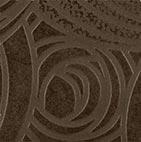 Керамическая вставка ColiseumGres Piemonte Камелия тоццетто коричневый 7,2х7,2 см цена и фото
