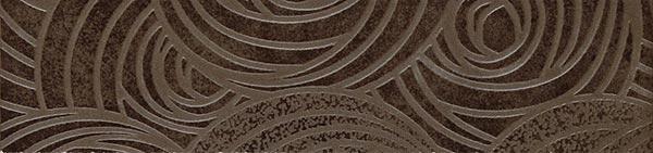 Керамический бордюр ColiseumGres Piemonte Коричневый Фашиа Камелия 7,2х30 см цена и фото