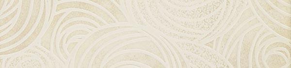 Керамический бордюр ColiseumGres Piemonte Белый Фашиа Камелия 7,2х30 см цена и фото