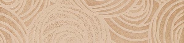 Керамический бордюр ColiseumGres Piemonte Беж Фашиа Камелия 7,2х30 см цена и фото