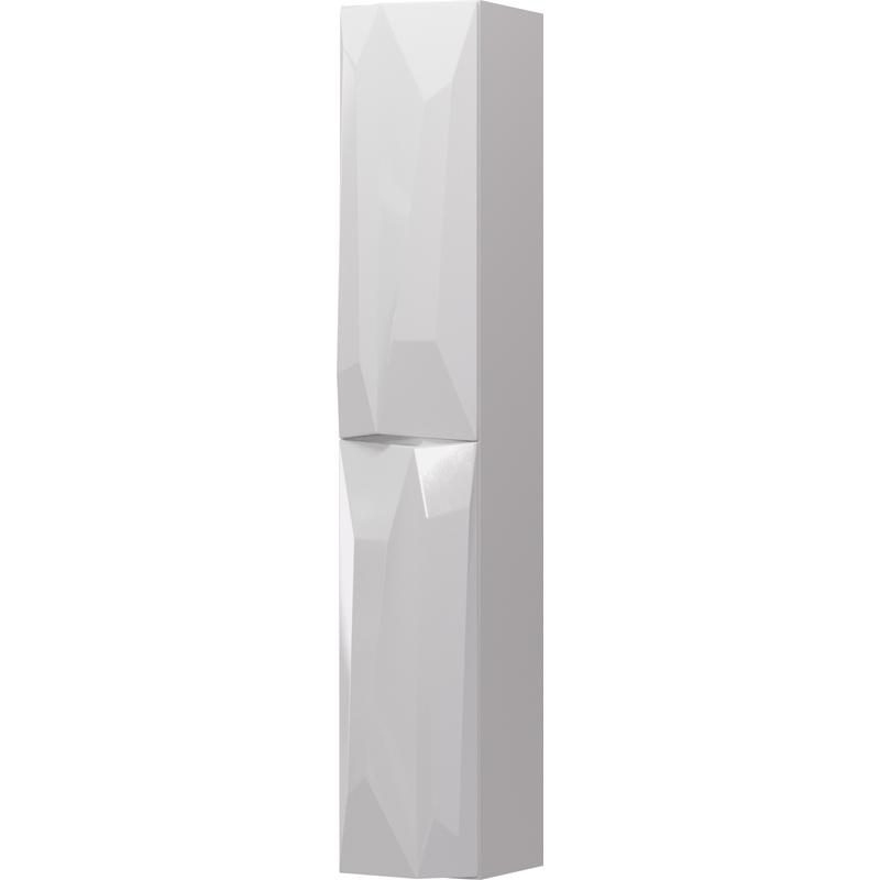 Шкаф пенал Aima Design Crystal 30П R White