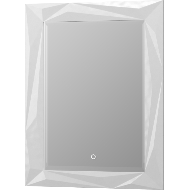Зеркало Aima Design Brilliant/Cristal 70 Light Белое