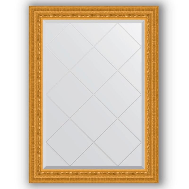 Зеркало Evoform Exclusive-G 102х75 Старый гипс зеркало evoform exclusive g floor 200х110 старый гипс