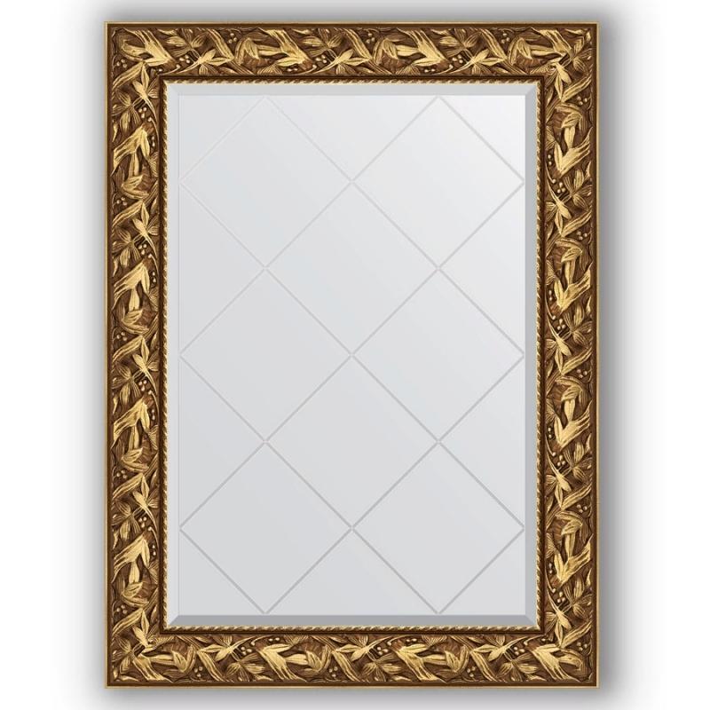 Зеркало Evoform Exclusive-G 106х79 Вензель бронзовый artspace пенал косметичка artspace floral