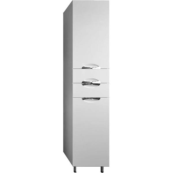 Шкаф-пенал АСБ-мебель Мессина 40 9625 R Белый