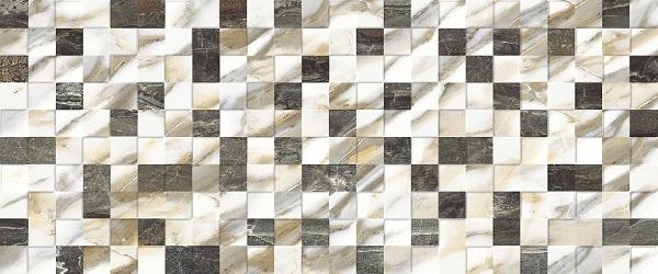 Керамическая плитка Keramika Modus Aura Carre Decor 1 настенная 25x60см