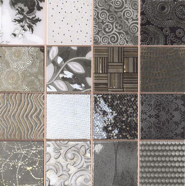 Керамическая мозаика Dune Ceramic Mosaics Tiffany Black 28,1х28,1 см belated shakespearean mosaics