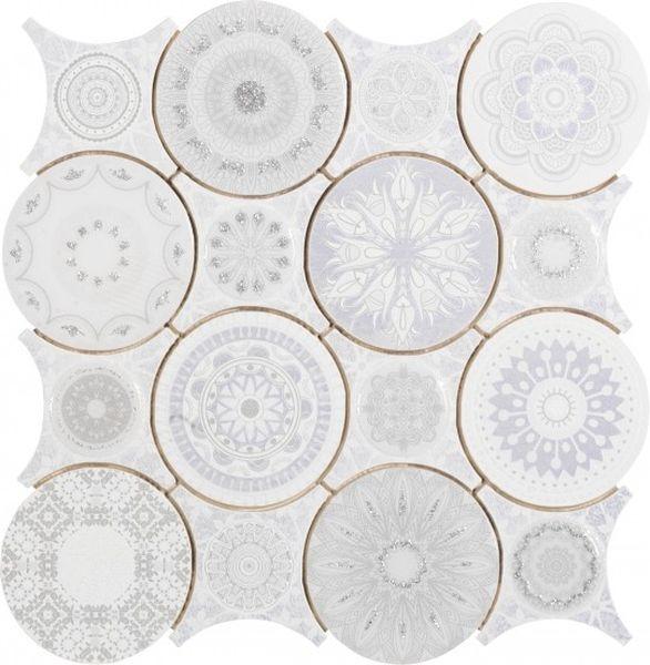 Керамическая мозаика Dune Ceramic Mosaics Frozen 28х28 см