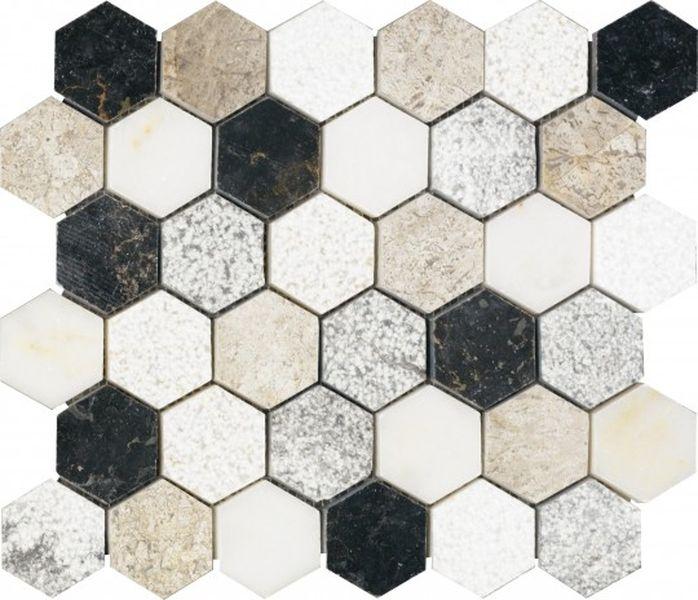 Керамическая мозаика Dune Stone Mosaics Soul 30,9х30,9 см цены онлайн