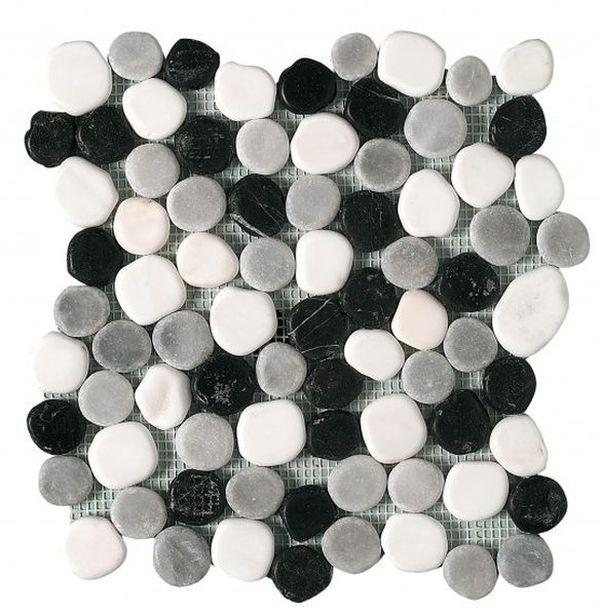 Керамическая мозаика Dune Stone Mosaics Rio Cinza 26х26 см цены онлайн