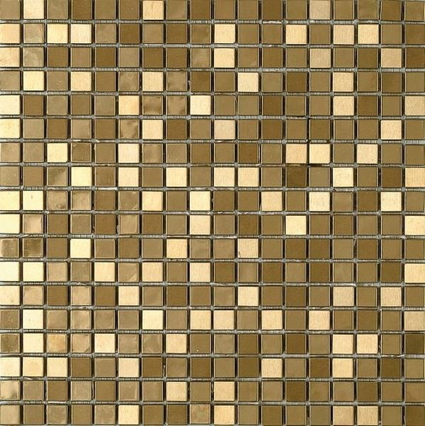 Керамическая мозаика Dune Materia Mosaics Metalic Gold 30,1х30,1 см belated shakespearean mosaics
