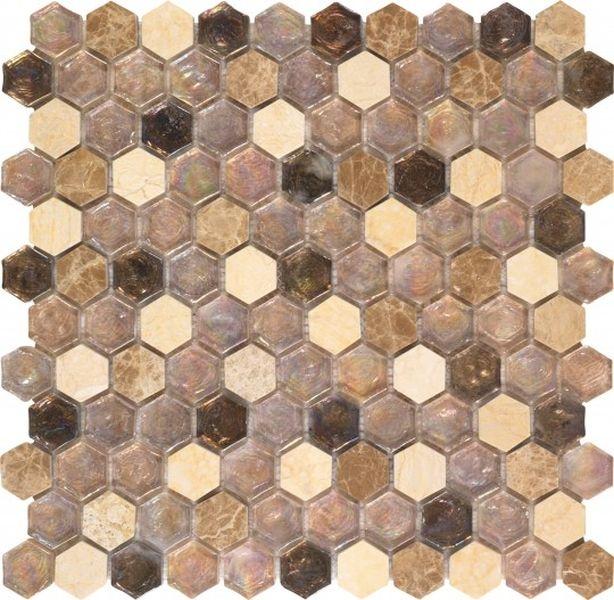 Керамическая мозаика Dune Materia Mosaics Melina 29х30 см belated shakespearean mosaics