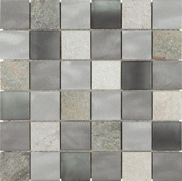 Керамическая мозаика Dune Materia Mosaics Magma Grey 29,8х29,8 см belated shakespearean mosaics