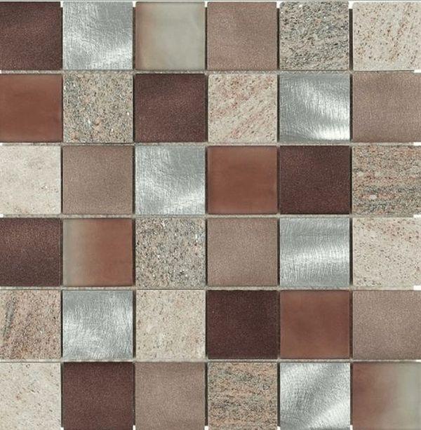 Керамическая мозаика Dune Materia Mosaics Magma Copper 29,8х29,8 см belated shakespearean mosaics