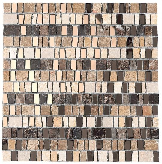 Керамическая мозаика Dune Materia Mosaics Luxor 30х30,5 см belated shakespearean mosaics