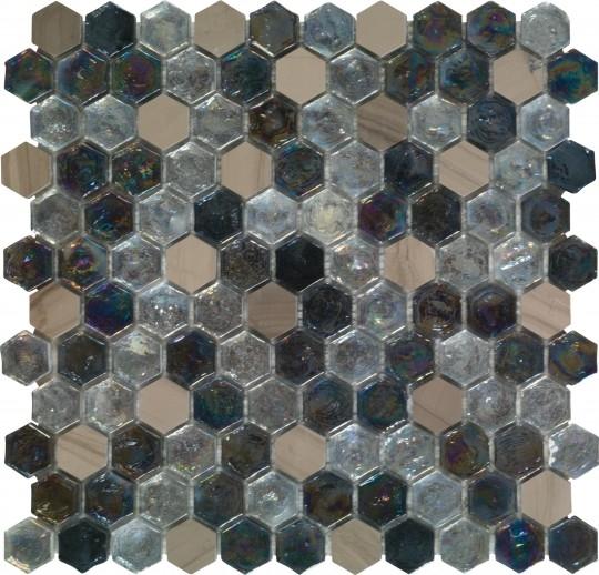 Керамическая мозаика Dune Materia Mosaics Kassiani 29,8х30 см belated shakespearean mosaics