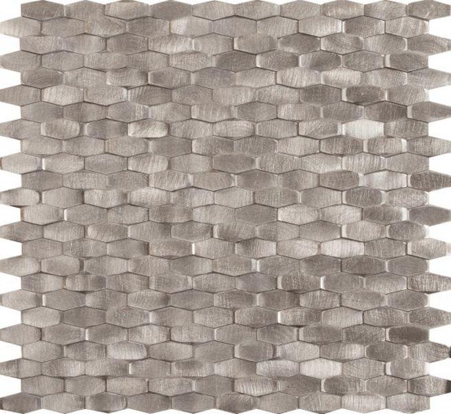 Керамическая мозаика Dune Materia Mosaics Halley Silver 28,4х30 см belated shakespearean mosaics