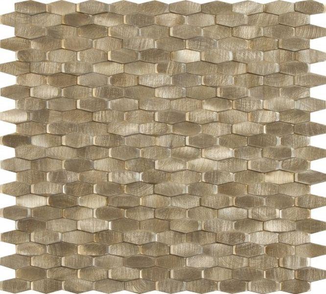 Керамическая мозаика Dune Materia Mosaics Halley Gold 28,4х30 см belated shakespearean mosaics