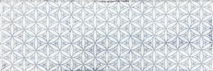 Керамическая плитка Fabresa Arles Snow Decor Mix настенная 10x30см керамическая плитка fabresa arles nickel настенная 10x30см