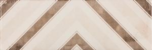 Керамическая плитка Fabresa Patinee Creme Decor настенная 10x30см керамическая плитка fabresa arles nickel настенная 10x30см