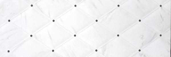 Керамический декор STN Fedra CP Blanco 25x75 см декор ibero groove beach d 25x75