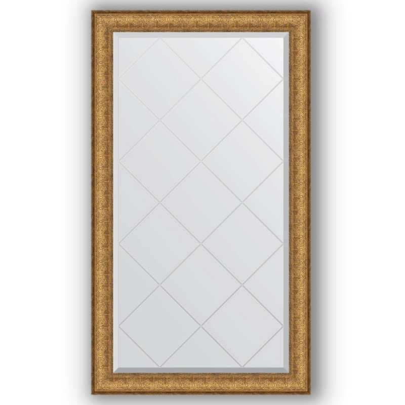 Зеркало Evoform Exclusive-G 128х74 Медный эльдорадо