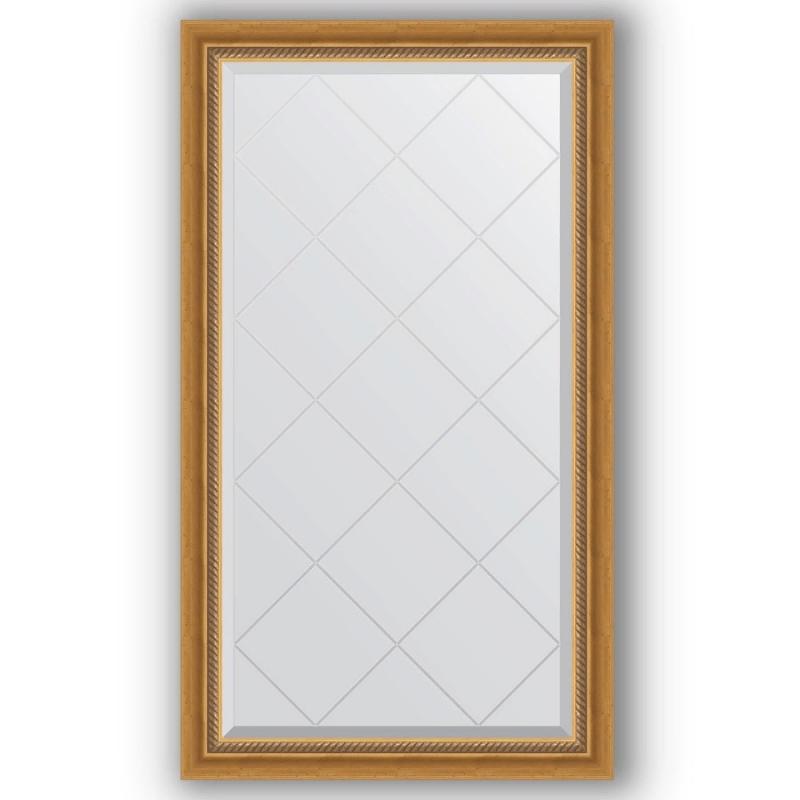 Зеркало Evoform Exclusive-G 128х73 Состаренное серебро с плетением зеркало evoform exclusive g 128х73 состаренное серебро с плетением