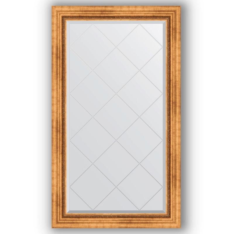 Зеркало Evoform Exclusive-G 131х76 Римское серебро зеркало evoform exclusive g 186х131 римское серебро