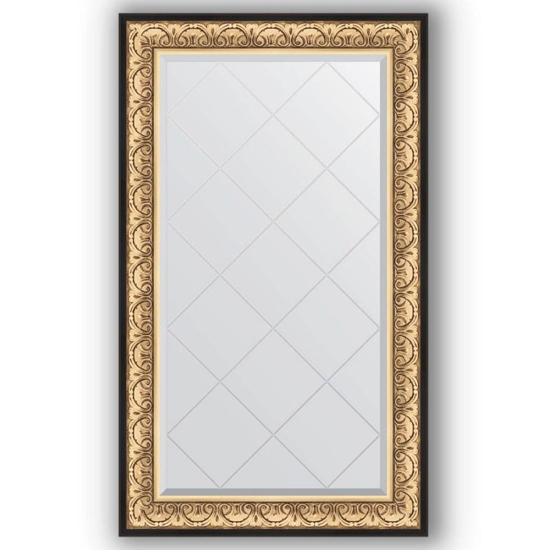 Зеркало Evoform Exclusive-G 135х80 Виньетка состаренная бронза